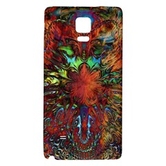 Boho Bohemian Hippie Floral Abstract Galaxy Note 4 Back Case by CrypticFragmentsDesign
