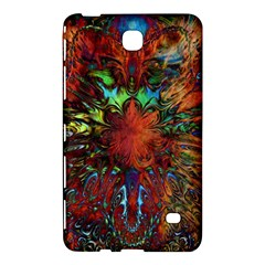 Boho Bohemian Hippie Floral Abstract Samsung Galaxy Tab 4 (8 ) Hardshell Case  by CrypticFragmentsDesign