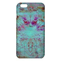 Retro Hippie Abstract Floral Blue Violet Iphone 6 Plus/6s Plus Tpu Case by CrypticFragmentsDesign