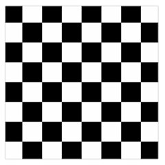 Checkered Flag Race Winner Mosaic Tile Pattern Large Satin Scarf (square) by CrypticFragmentsColors