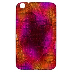 Purple Orange Pink Colorful Samsung Galaxy Tab 3 (8 ) T3100 Hardshell Case  by yoursparklingshop