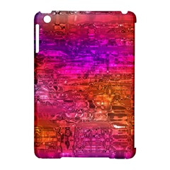 Purple Orange Pink Colorful Art Apple Ipad Mini Hardshell Case (compatible With Smart Cover) by yoursparklingshop