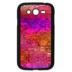 Purple Orange Pink Colorful Art Samsung Galaxy Grand Duos I9082 Case (black) by yoursparklingshop