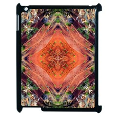 Boho Bohemian Hippie Floral Abstract Faded  Apple Ipad 2 Case (black) by CrypticFragmentsDesign
