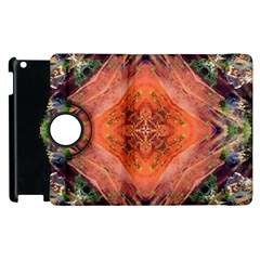 Boho Bohemian Hippie Floral Abstract Faded  Apple Ipad 3/4 Flip 360 Case by CrypticFragmentsDesign