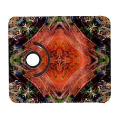 Boho Bohemian Hippie Floral Abstract Faded  Samsung Galaxy S  Iii Flip 360 Case by CrypticFragmentsDesign