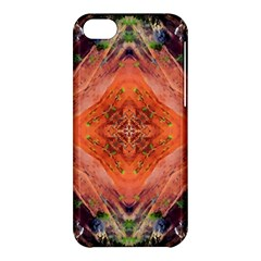 Boho Bohemian Hippie Floral Abstract Faded  Apple Iphone 5c Hardshell Case by CrypticFragmentsDesign