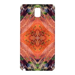 Boho Bohemian Hippie Floral Abstract Faded  Samsung Galaxy Note 3 N9005 Hardshell Back Case by CrypticFragmentsDesign