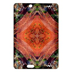 Boho Bohemian Hippie Floral Abstract Faded  Amazon Kindle Fire Hd (2013) Hardshell Case by CrypticFragmentsDesign
