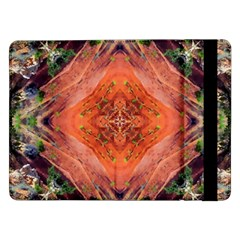 Boho Bohemian Hippie Floral Abstract Faded  Samsung Galaxy Tab Pro 12 2  Flip Case by CrypticFragmentsDesign
