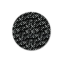 Galaxy Dots Magnet 3  (round) by dflcprints