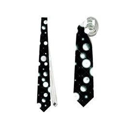 Galaxy Dots Neckties (two Side)  by dflcprints