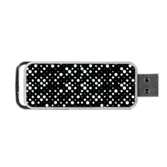 Galaxy Dots Portable Usb Flash (one Side) by dflcprints