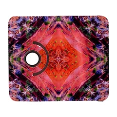 Boho Bohemian Hippie Retro Tie Dye Summer Flower Garden Design Samsung Galaxy S  Iii Flip 360 Case by CrypticFragmentsDesign
