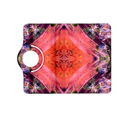 Boho Bohemian Hippie Retro Tie Dye Summer Flower Garden Design Kindle Fire Hd (2013) Flip 360 Case by CrypticFragmentsDesign