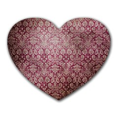Vintage Wallpaper Mouse Pad (Heart) by EndlessVintage