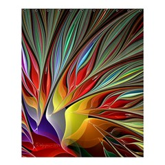 Fractal Bird Of Paradise Shower Curtain 60  X 72  (medium) by WolfepawFractals