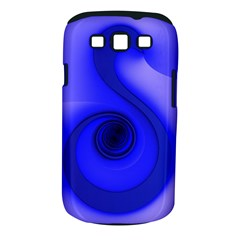 Blue Spiral Note Samsung Galaxy S Iii Classic Hardshell Case (pc+silicone) by CrypticFragmentsDesign