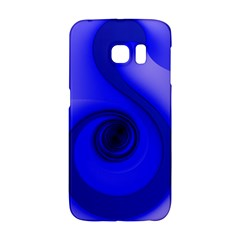 Blue Spiral Note Galaxy S6 Edge by CrypticFragmentsDesign
