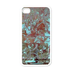 Urban Graffiti Grunge Look Apple Iphone 4 Case (white) by CrypticFragmentsDesign