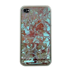 Urban Graffiti Grunge Look Apple Iphone 4 Case (clear) by CrypticFragmentsDesign