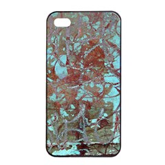 Urban Graffiti Grunge Look Apple Iphone 4/4s Seamless Case (black) by CrypticFragmentsDesign
