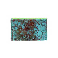 Urban Graffiti Grunge Look Cosmetic Bag (xs) by CrypticFragmentsDesign