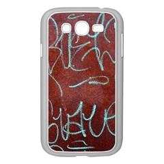 Urban Graffiti Rust Grunge Texture Background Samsung Galaxy Grand Duos I9082 Case (white) by CrypticFragmentsDesign