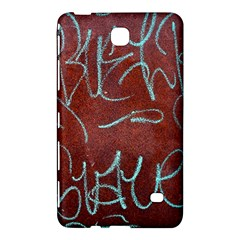 Urban Graffiti Rust Grunge Texture Background Samsung Galaxy Tab 4 (8 ) Hardshell Case  by CrypticFragmentsDesign