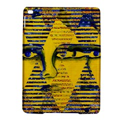 Conundrum Ii, Abstract Golden & Sapphire Goddess Ipad Air 2 Hardshell Cases by DianeClancy