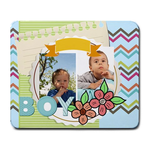 Kids By Kids   Collage Mousepad   Ddtnxmk1j0qs   Www Artscow Com 9.25 x7.75 Mousepad - 1