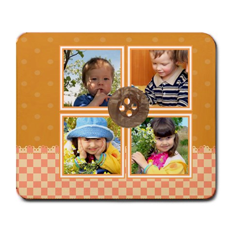 Kids By Kids   Collage Mousepad   70bcb39vbnlp   Www Artscow Com 9.25 x7.75 Mousepad - 1