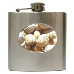 Tropical Exotic Sea Shells Hip Flask (6 Oz) by yoursparklingshop