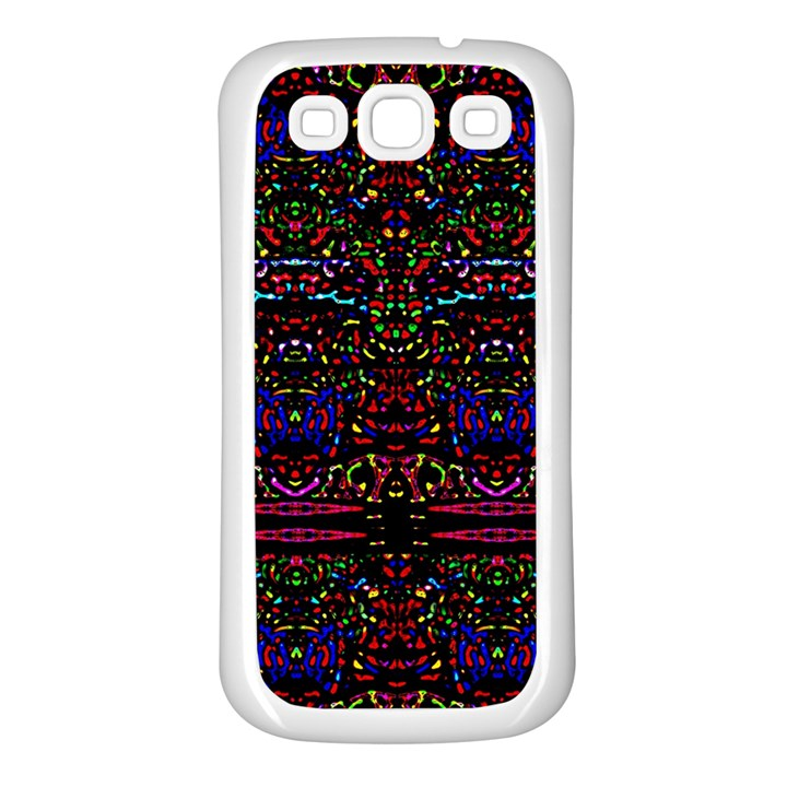 Bubble Up Samsung Galaxy S3 Back Case (White)