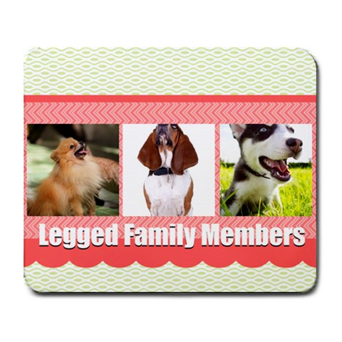 Pet By Pet    Collage Mousepad   F5vyhz61e65i   Www Artscow Com 9.25 x7.75 Mousepad - 1
