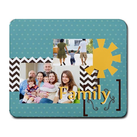 Family By Family   Large Mousepad   2ee8ltrr6n61   Www Artscow Com Front