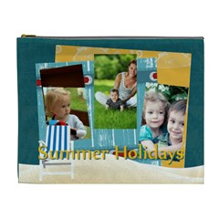 Summer By Summer Time    Cosmetic Bag (xl)   9mn0c8pxoz4v   Www Artscow Com Front