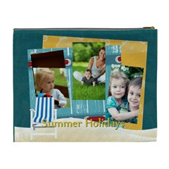 Summer By Summer Time    Cosmetic Bag (xl)   5mx4swbjw24x   Www Artscow Com Back