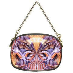 Fire Goddess Abstract Modern Digital Art  Chain Purses (one Side)  by CrypticFragmentsDesign