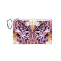 Fire Goddess Abstract Modern Digital Art  Canvas Cosmetic Bag (S) by CrypticFragmentsDesign