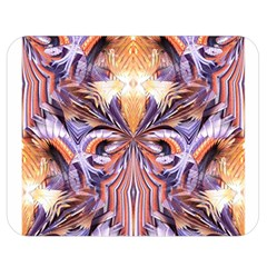 Fire Goddess Abstract Modern Digital Art  Double Sided Flano Blanket (medium)  by CrypticFragmentsDesign