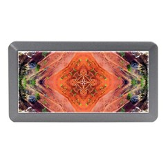Boho Bohemian Hippie Floral Abstract Faded  Memory Card Reader (mini) by CrypticFragmentsDesign