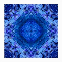 Boho Bohemian Hippie Tie Dye Cobalt Medium Glasses Cloth by CrypticFragmentsDesign
