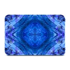 Boho Bohemian Hippie Tie Dye Cobalt Plate Mats by CrypticFragmentsDesign