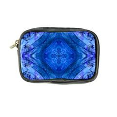 Boho Bohemian Hippie Tie Dye Cobalt Coin Purse by CrypticFragmentsDesign