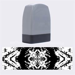 Boho Bohemian Hippie Tie Dye Cobalt Name Stamps by CrypticFragmentsDesign