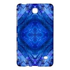 Boho Bohemian Hippie Tie Dye Cobalt Samsung Galaxy Tab 4 (8 ) Hardshell Case  by CrypticFragmentsDesign