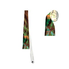 Metallic Abstract Copper Patina  Neckties (two Side)