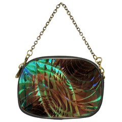 Metallic Abstract Copper Patina  Chain Purses (one Side)  by CrypticFragmentsDesign