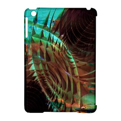 Metallic Abstract Copper Patina  Apple Ipad Mini Hardshell Case (compatible With Smart Cover) by CrypticFragmentsDesign